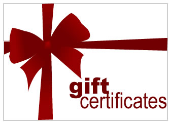 Give a Gift Certificate!